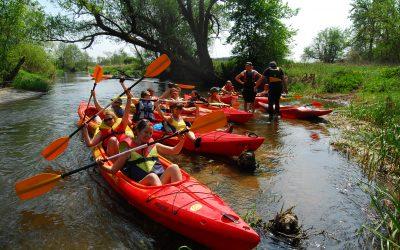 Spływ kajakowy w długi weekend majowy